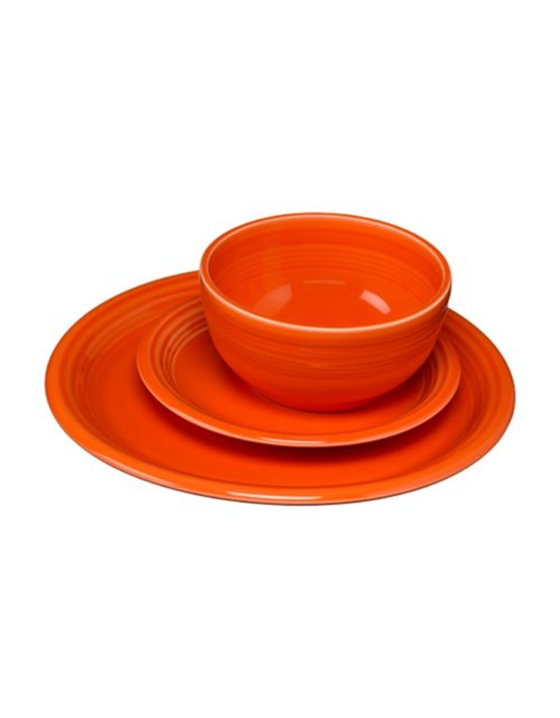 3 pc Bistro Place Setting Poppy