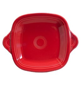 Square Handled Tray Scarlet