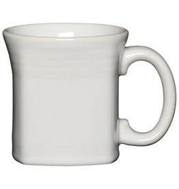 Square Mug 13 oz White