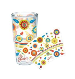 Tervis Poppy Flowers 24 oz Tumbler