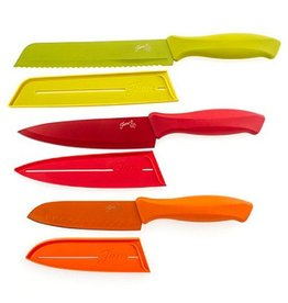 6 pc Fiesta® Muti Color Chef Knife Set