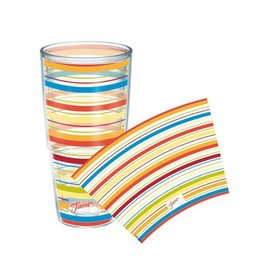 Tervis Poppy Stripes 24 oz Tumbler