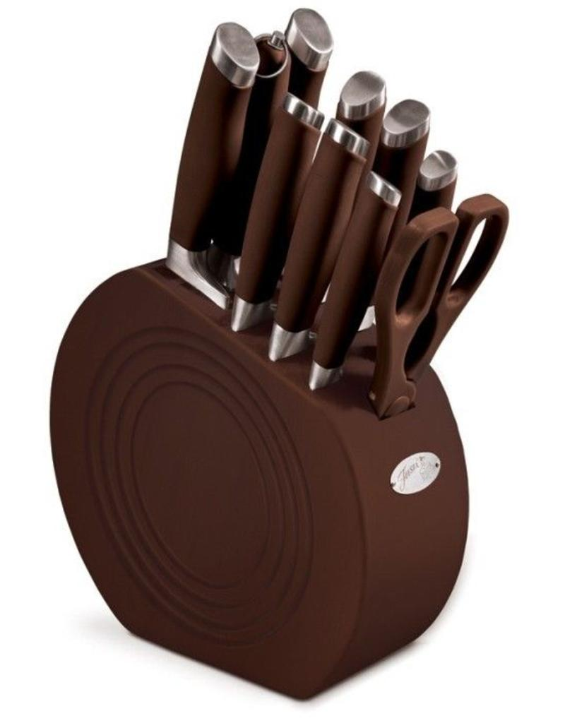11 pc Cutlery Set Chocolate