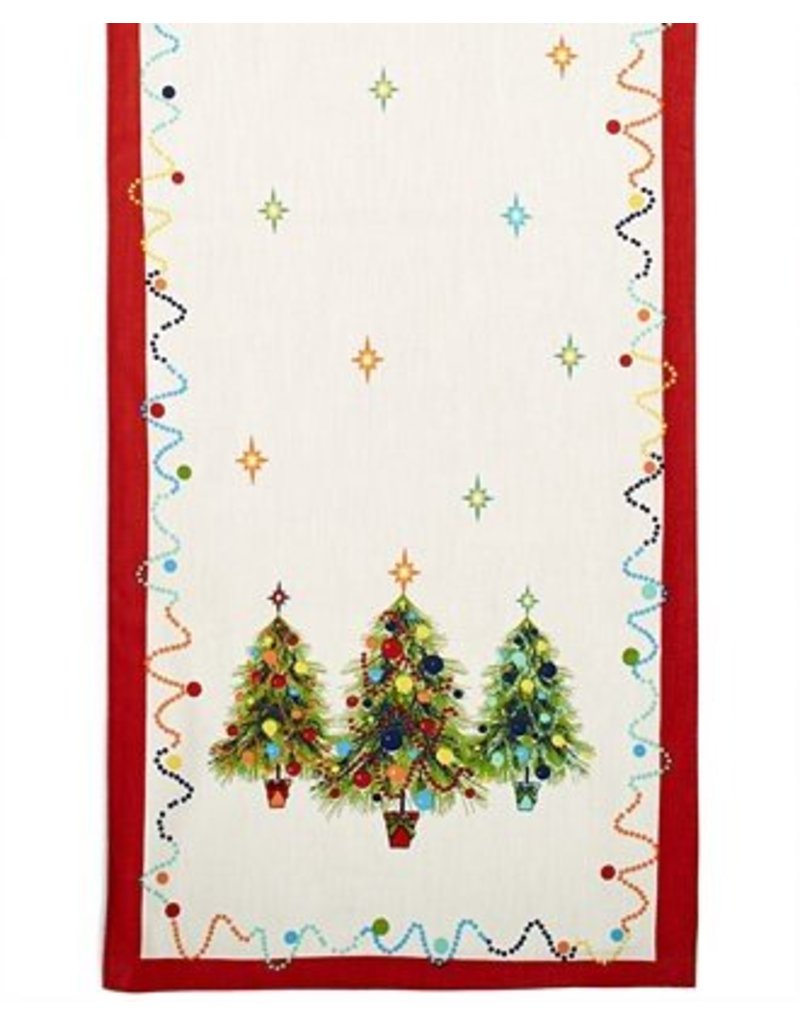 Holiday Gatherings Table Runner 72""