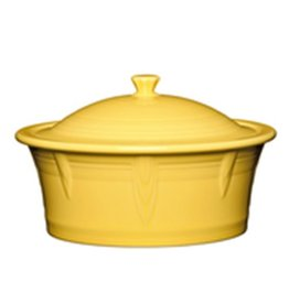 Large Covered Casserole 90 oz Sunflower