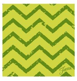 Thirstystone Green Chevron Single Coaster