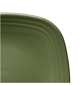 "Square Dinner Plate 10 3/4"" Sage"