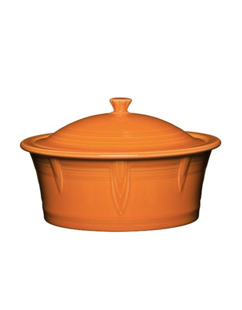 Large Covered Casserole 90 oz Tangerine