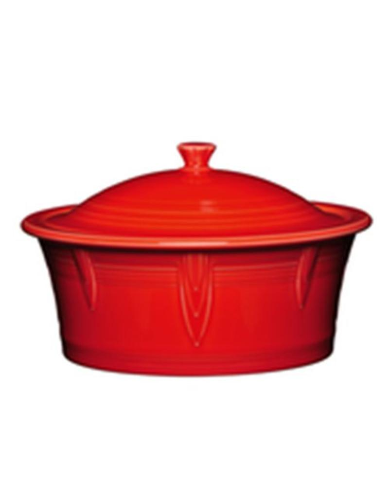 Large Covered Casserole 90 oz Scarlet