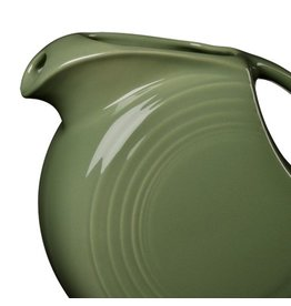 Large Disc Pitcher 67 1/4 oz Sage