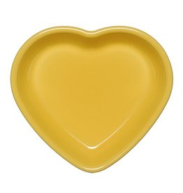 Medium Heart Bowl 19 oz Sunflower