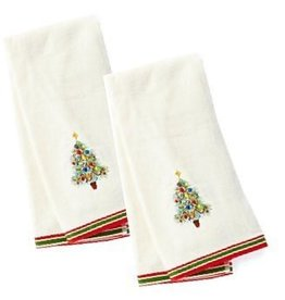 Holiday Gatherings Kitchen Towel Embroidered
