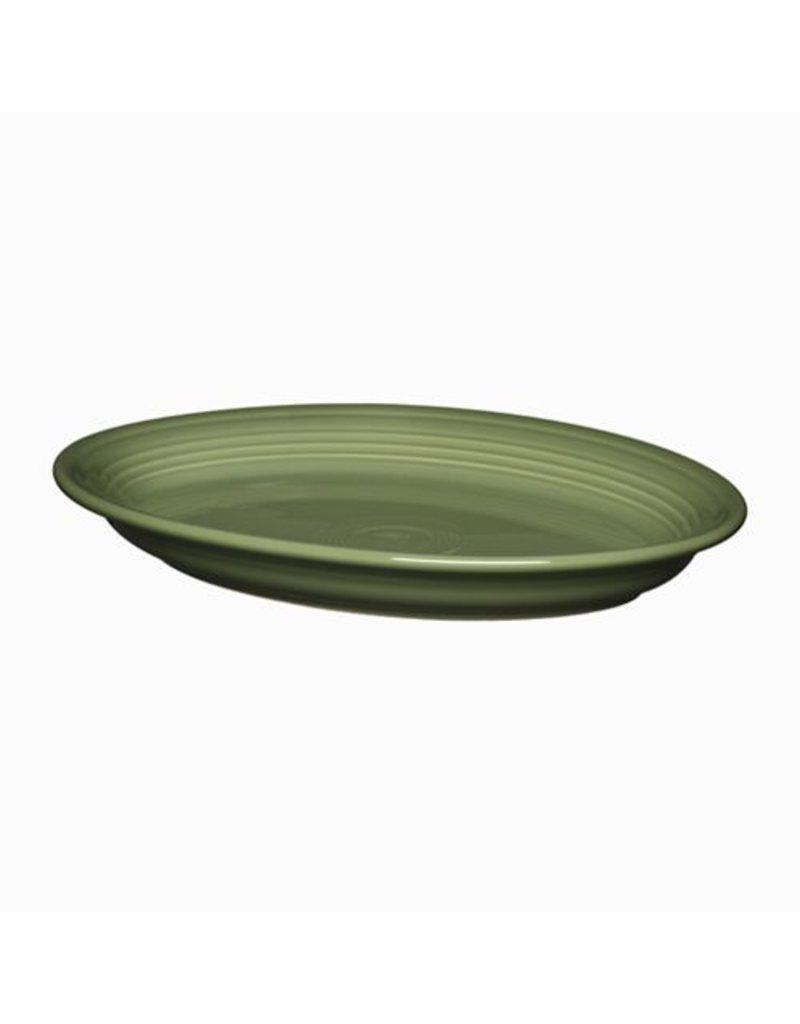 """Large Oval Platter 13 5/8"""" Sage"""