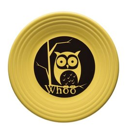 Luncheon Plate Halloween Whoo Owl