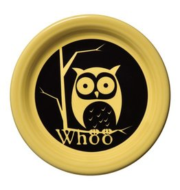 Appetizer Plate WHOO Owl