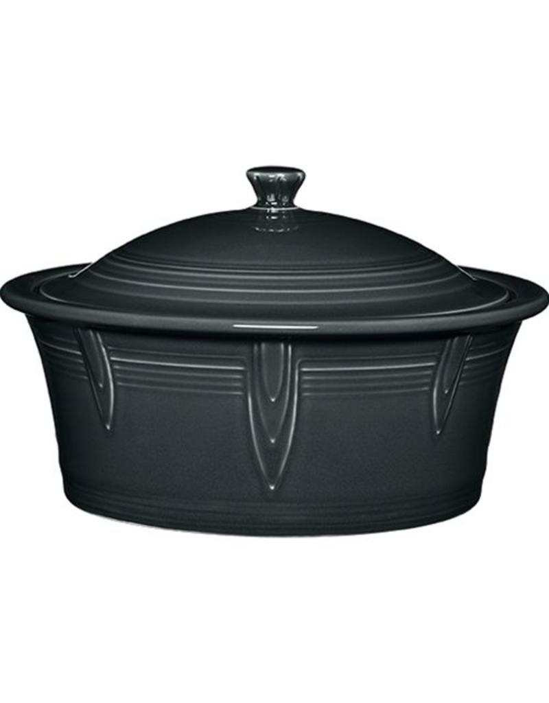 Large Covered Casserole 90 oz Slate