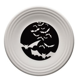 Luncheon Plate Halloween Bats