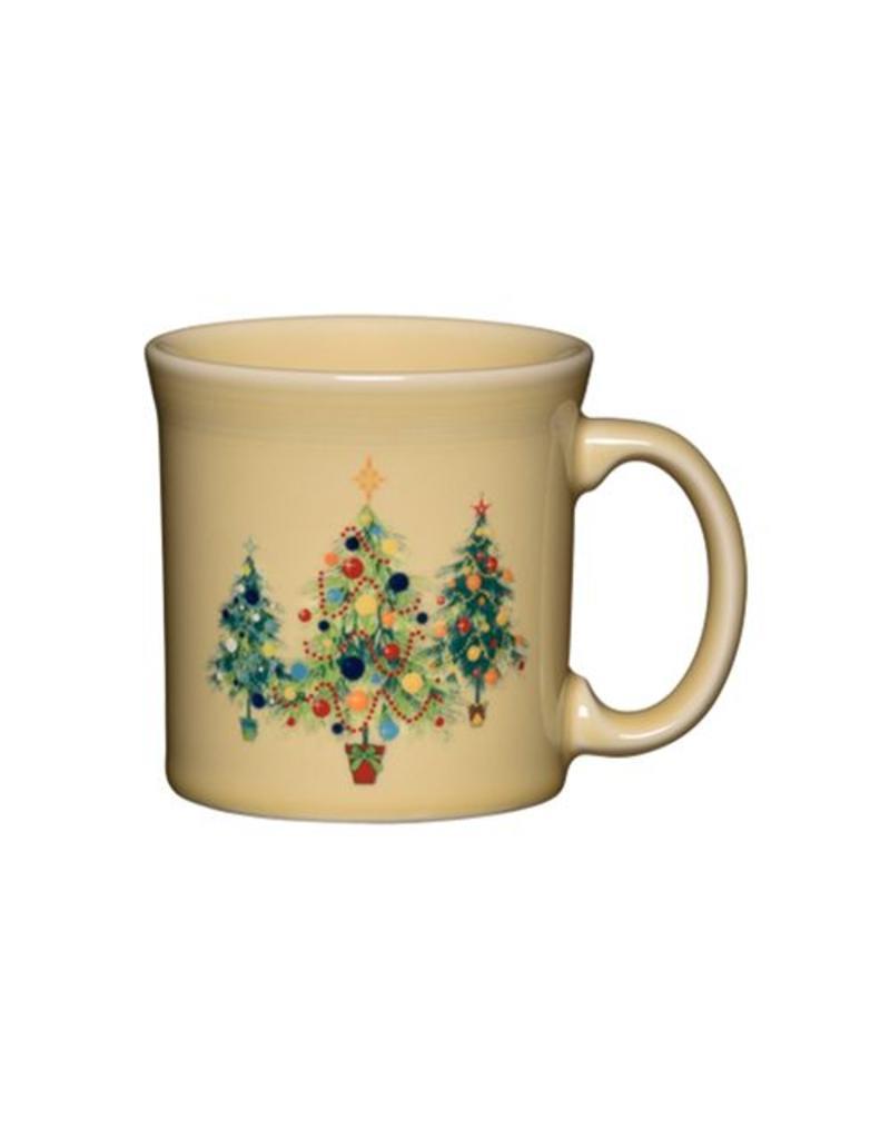 Java Mug 12 oz Christmas Trio of Trees