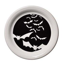 Appetizer Plate Halloween Bats