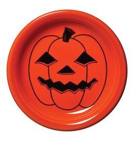 Appetizer Plate Halloween Spooky Pumpkin