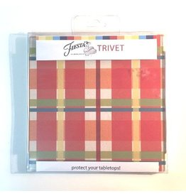 Thirstystone Plaid Trivet