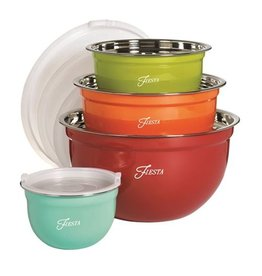 8 pc Fiesta Mixing Bowl Set