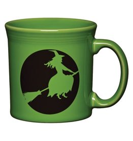 Java Mug Halloween Moon Lit Witch