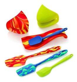 7 pc Fiesta® Silicone Kitchen Set