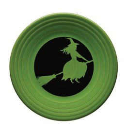 Luncheon Plate Halloween Moon Lit Witch