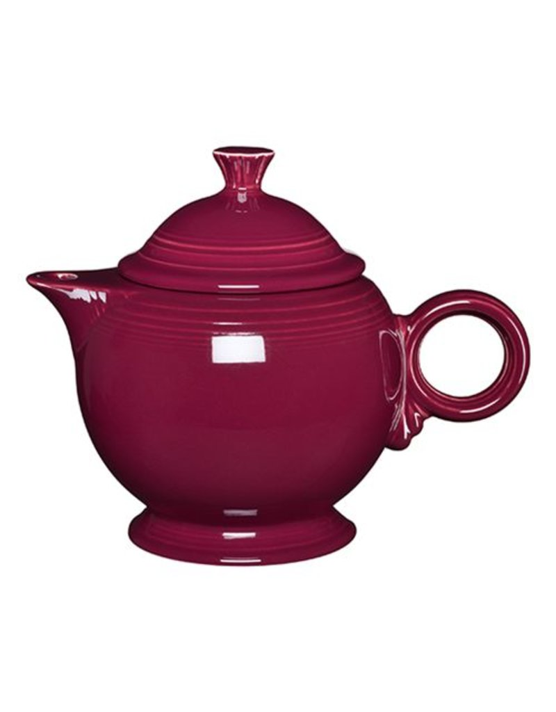 Covered Teapot Claret