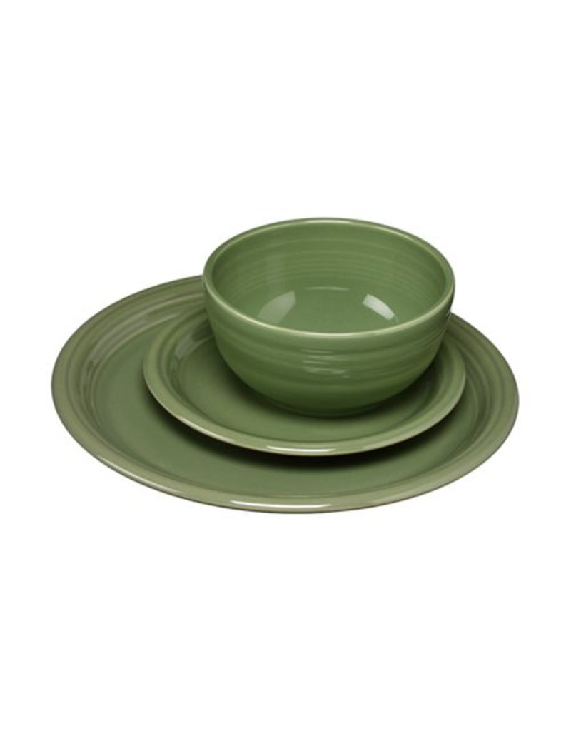 3 pc Bistro Place Setting Sage