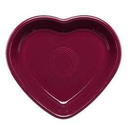 Medium Heart Bowl 19 oz Claret