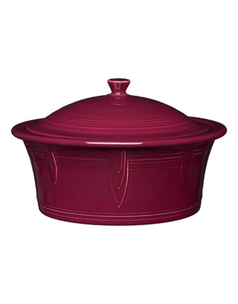 Large Covered Casserole 90 oz Claret
