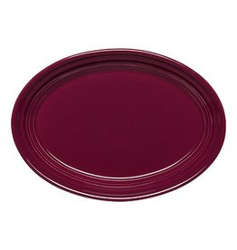 "Small Oval Platter 9 5/8"" Claret"