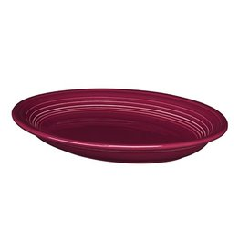 """Medium Oval Platter 11 5/8"""" Claret"""
