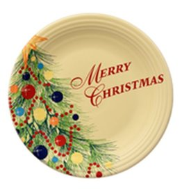 "Chop Plate 11 3/4"" Merry Christmas"