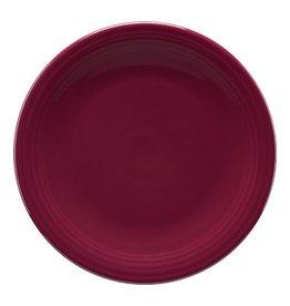 "Chop Plate 11 3/4"" Claret"