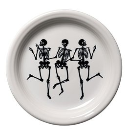 Appetizer Plate Skeletons Trio
