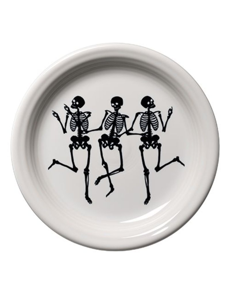 Appetizer Plate Skeletons Trio