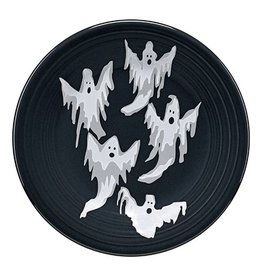 Luncheon Plate Halloween Ghosts