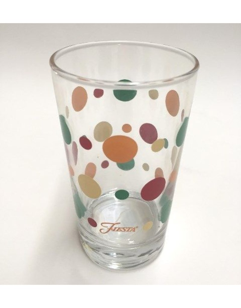 Juice Glass with Dots