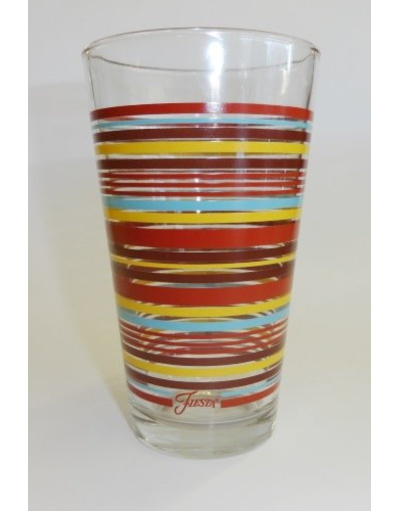 Juice Glass with Stripes