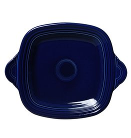 Square Handled Tray Cobalt Blue