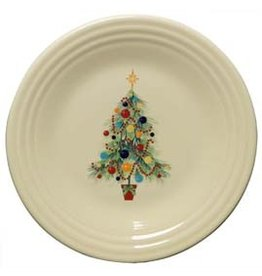 Luncheon Plate Fiesta® Christmas Tree