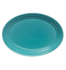 "Small Oval Platter 9 5/8"" Turquoise"