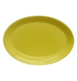 "Small Oval Platter 9 5/8"" Sunflower"