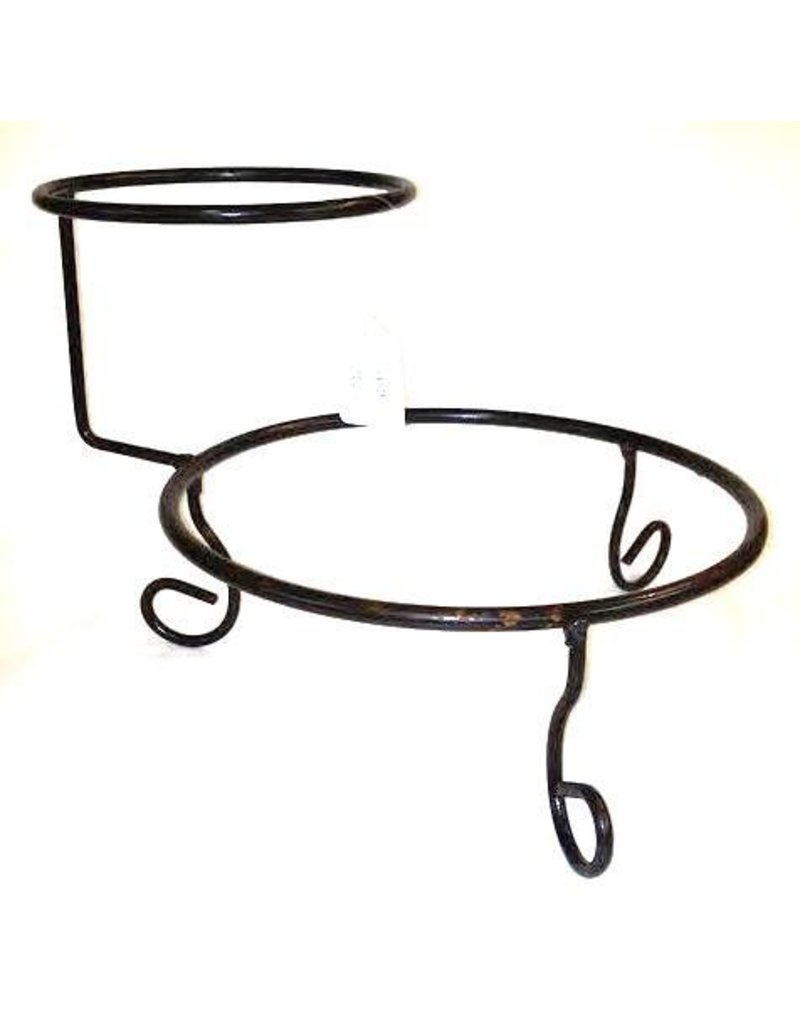 Chip and Dip Textured Metal Stand