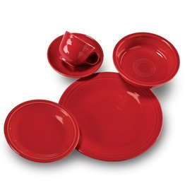 5 pc Place Setting (cup/scr) Scarlet