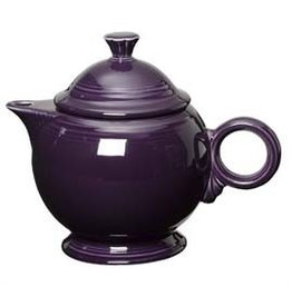 Covered Teapot Plum