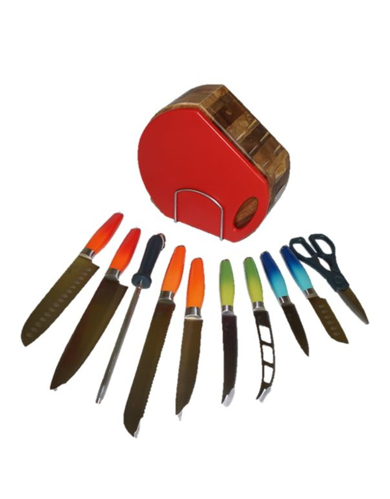 12 pc Fiesta® Ombre Cutlery Set